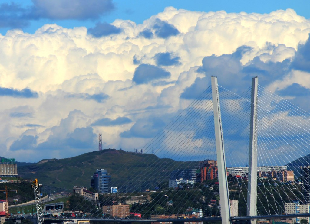 A beautiful shot of Vladivostok in summer (taken by Helen)