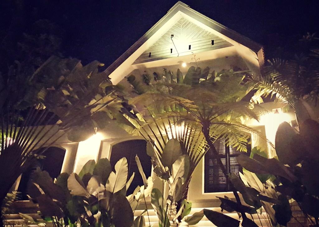 Outside Hotel Tugu