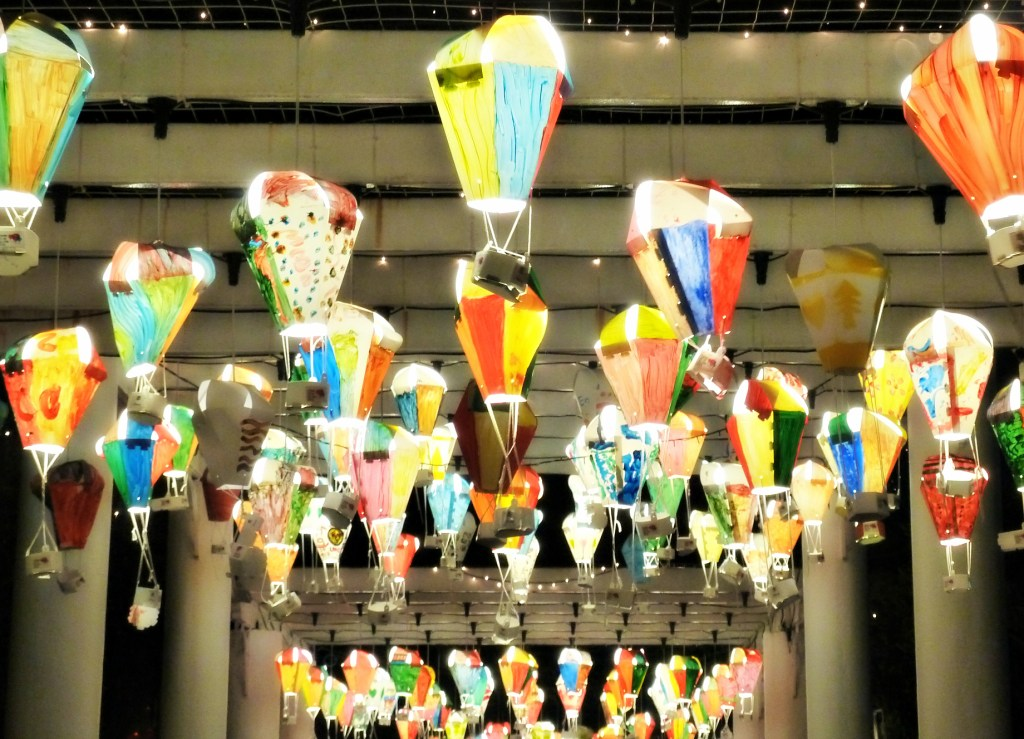 "Hand-made lanterns at Penang's ""Hot Air Balloon Festival"""