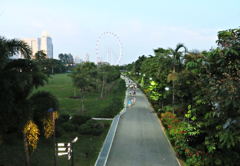 Singapore didn't have enough parks. So . . . they built a park