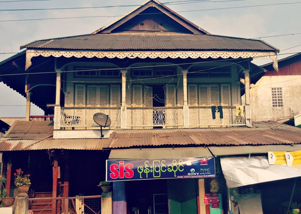 Dawei's shopping centre