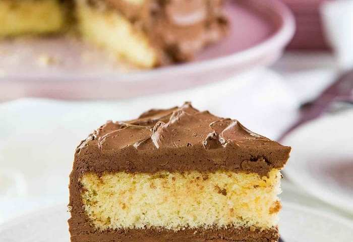 The Best Vanilla Cake Soft And Buttery Vanilla Cake The Flavor