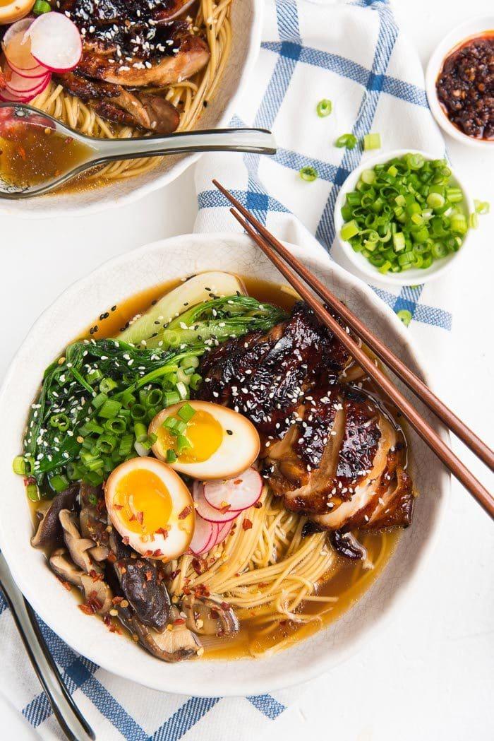 easy homemade chicken ramen the