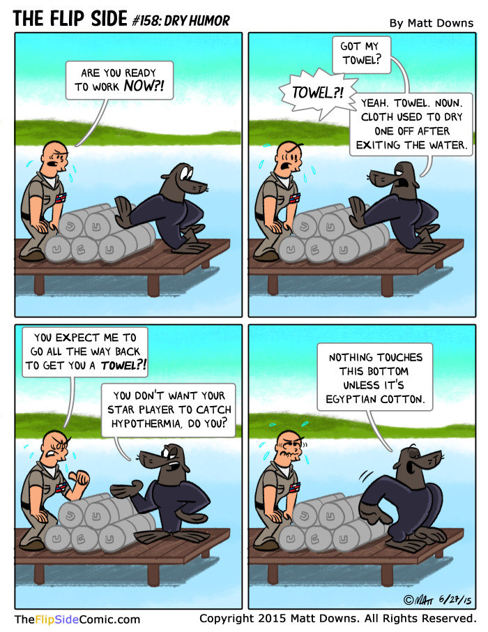 #158: Dry Humor