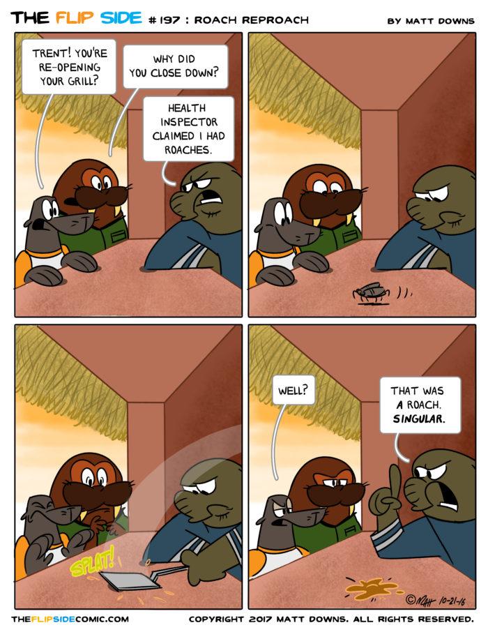#197: Roach Reproach