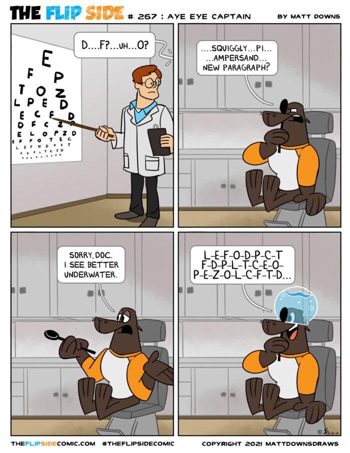 #267: Aye Eye Captain