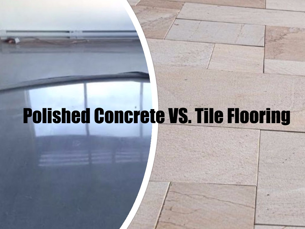 Polished concrete vs tilespeter benjamin surfaces polished concrete vs tile flooring ottawa polished concrete floors dailygadgetfo Image collections