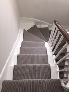 Stairs   The Flooring Group portfolio carpets grey stair carpet installed 06