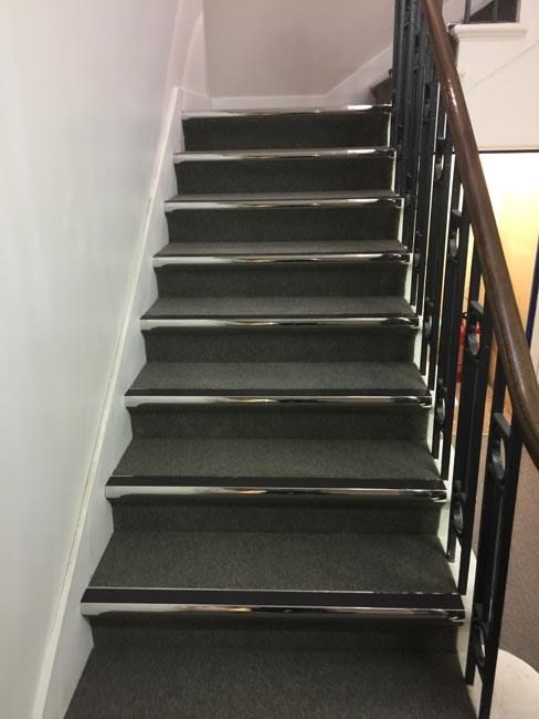 Stairs Carpet Tiles The Flooring Group | Carpet Tiles For Steps