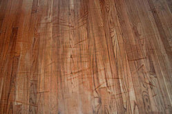 Sanding Marks on Floor