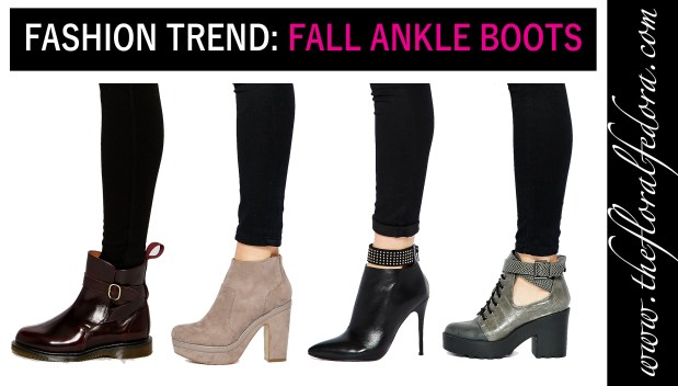 Fashion Trend: Fall Ankle Boots