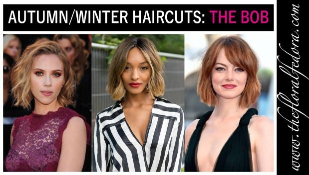 Autumn/Winter Haircuts: The Bob