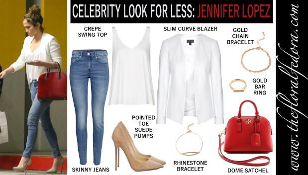 Celebrity Look for Less: Jennifer Lopez