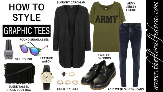 How to Style It: Graphic Tees