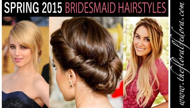 Spring 2015 Bridesmaid Hairstyles