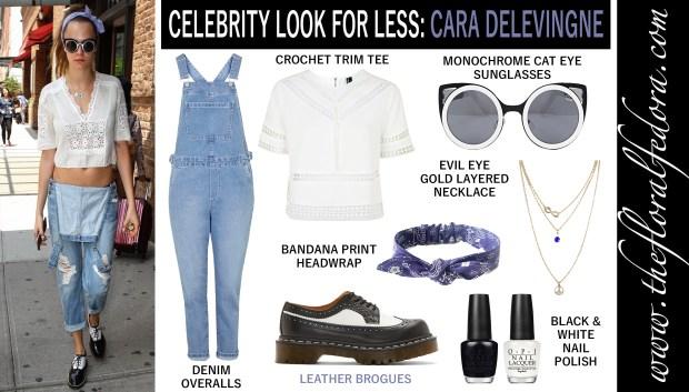 Celebrity Look for Less: Cara Delevingne
