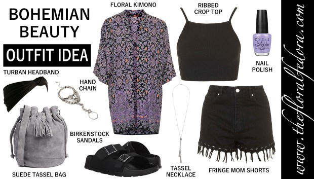 Outfit Idea: Bohemian Beauty