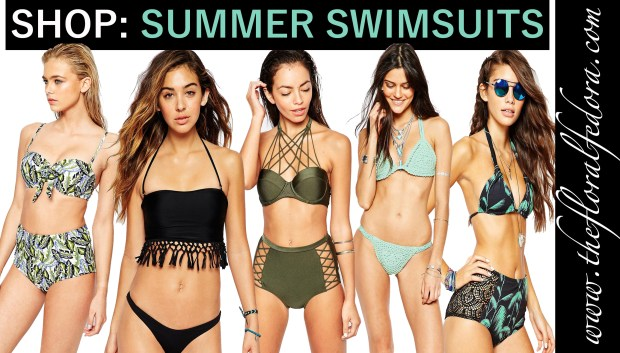 Shop: Summer Swimsuits