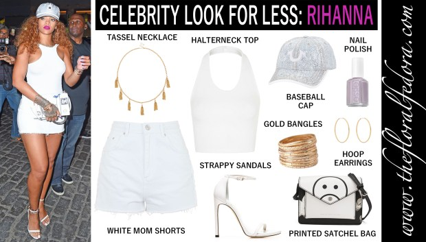 Celebrity Look for Less: Rihanna