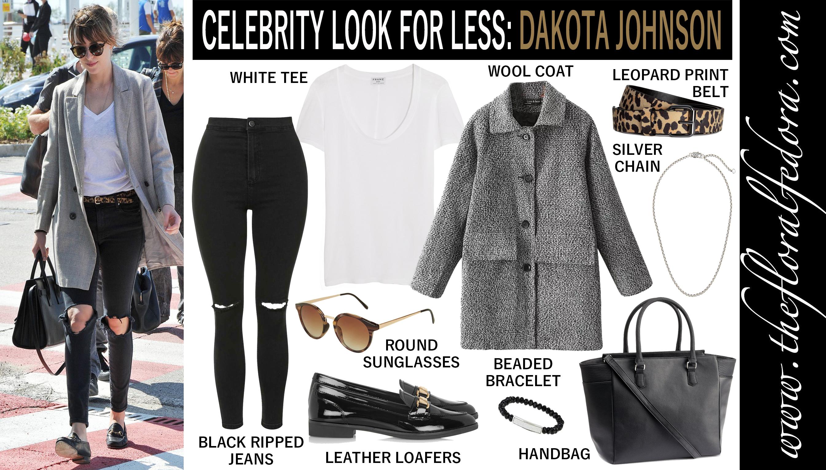 Celebrity Look for Less: Dakota Johnson