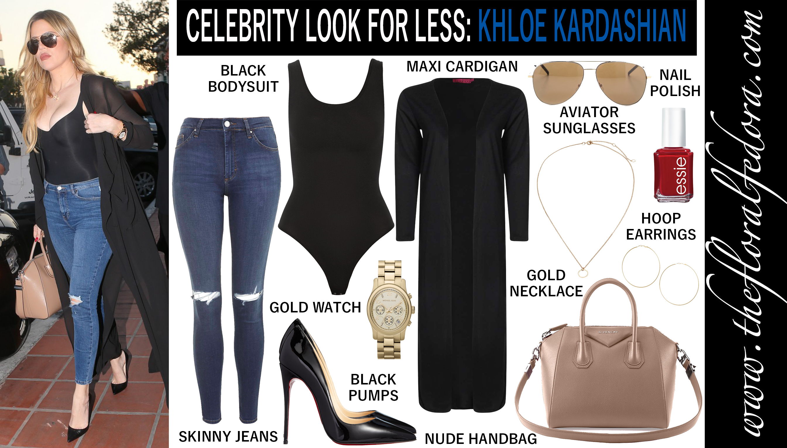 Celebrity Look for Less: Khloe Kardashian