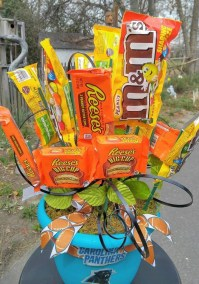 000004Candy Bouquet Charlotte NC Delivery