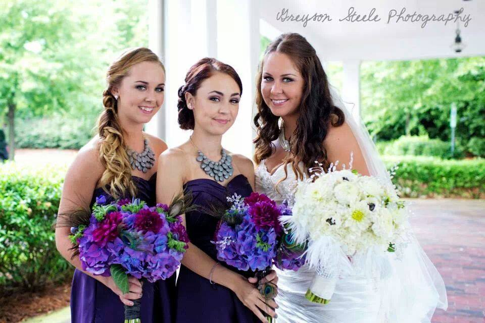 AshleyAlfredoWedding_BrideandBridesmaids