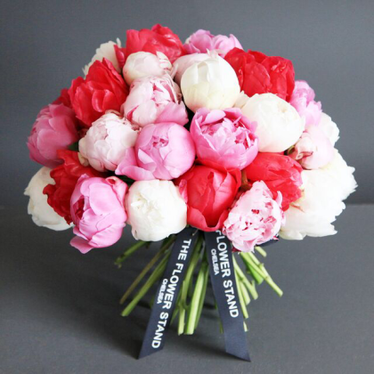 Luxury Peony Bouquet   Mixed Peonies   Same Day Delivery Flowers
