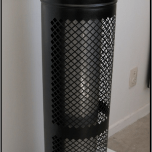 Half perforated Flue guard