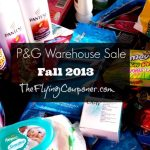 P&G Warehouse Sale Winter 2013