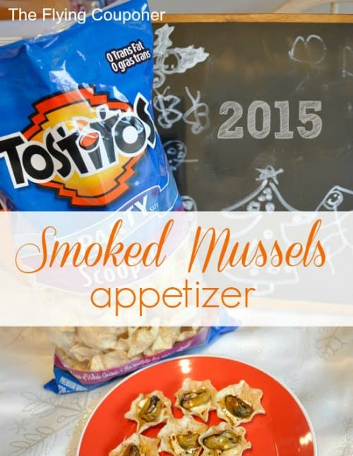 Smoked Mussels Appetizer #InspiretheSeason 2015