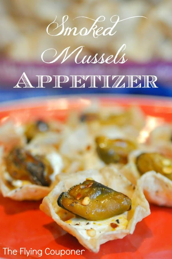 Smoked Mussels Appetizer #InspiretheSeason #ad