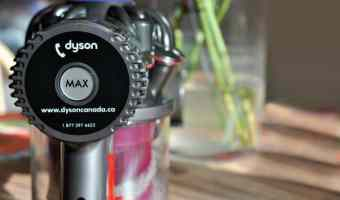 Cleaning with Dyson's V6 Animal