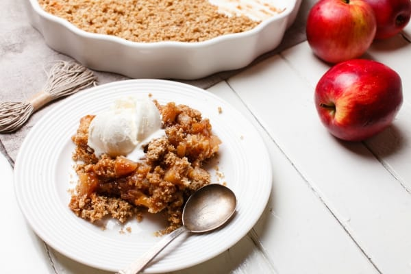 Apple Crumble Recipe. The Flying Couponer. Family. Travel. Saving Money.