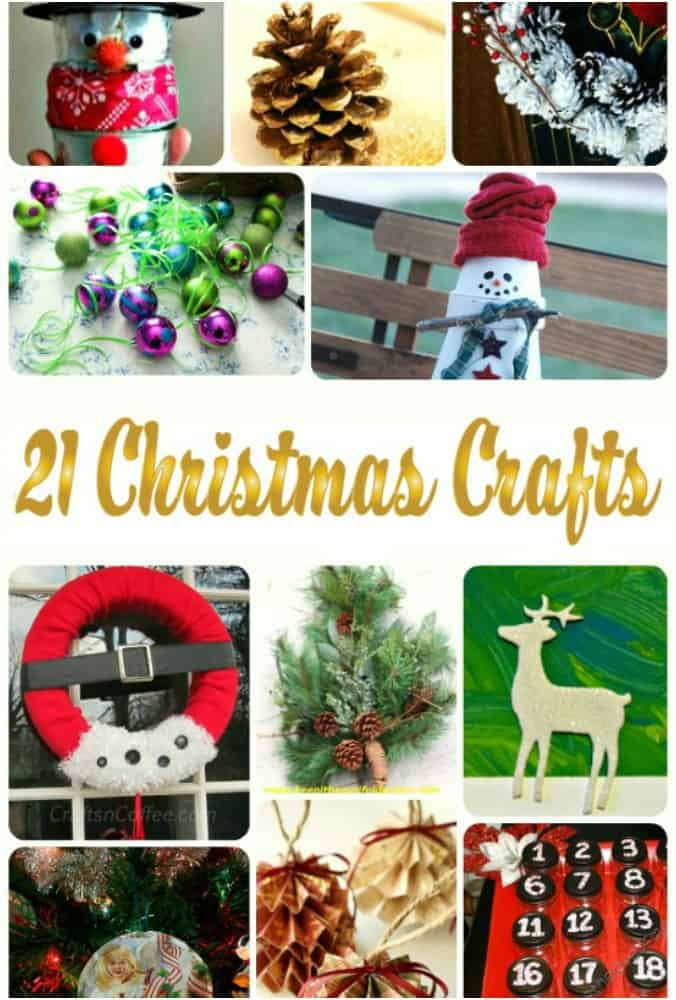 21 Christmas Craft Ideas for kids and adults. The Flying Couponer.