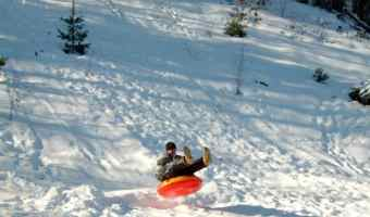 Going Snow Tubing this Leap Year