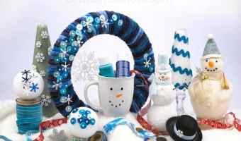 20 Adorable Snowman Crafts for Kids