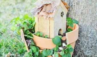 DIY Easy Fairy Garden