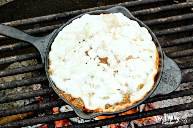 The Ultimate Campfire Smores Dip