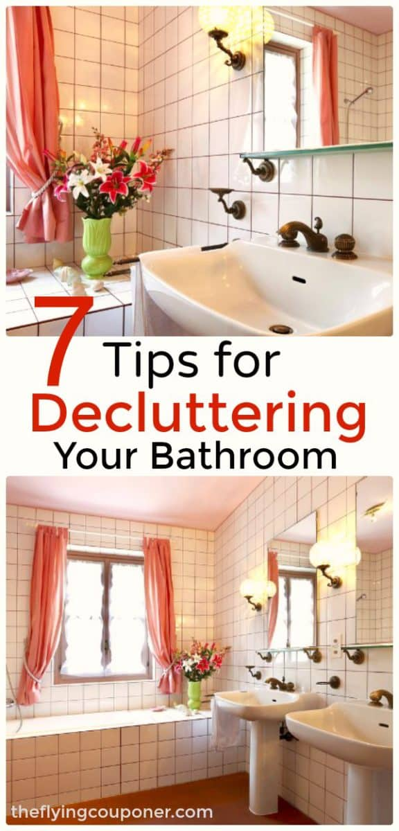 7 Effective and Simple Tips for Decluttering Your Bathroom
