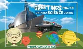 Win an Ontario Science Centre Planetary Membership