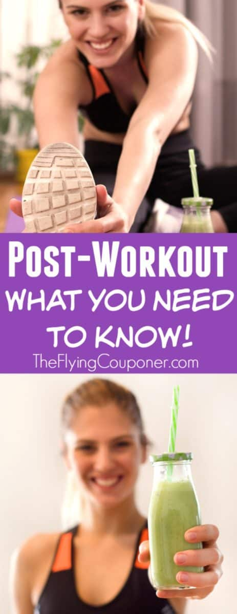 Post-Workout. What You Need to Know!