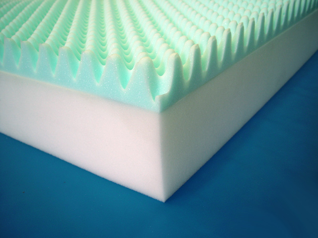 Eggcrate Foam Layers Are Ultra Cushioning