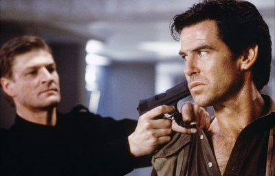 Pierce Brosnan clashed with Sean Bean in GoldenEye