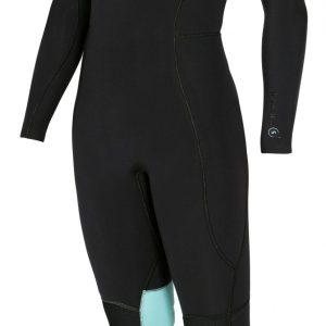 Manera Woman wetsuit 543 Magma black front