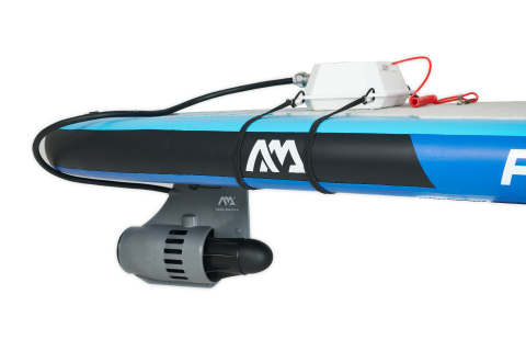 Aqua Marina power fin on SUP