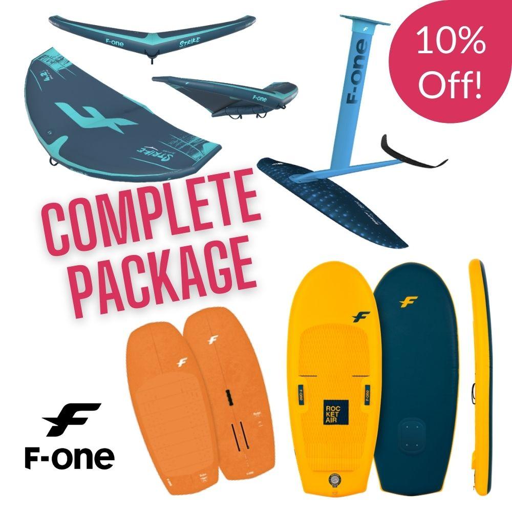 F one strike wing foil package