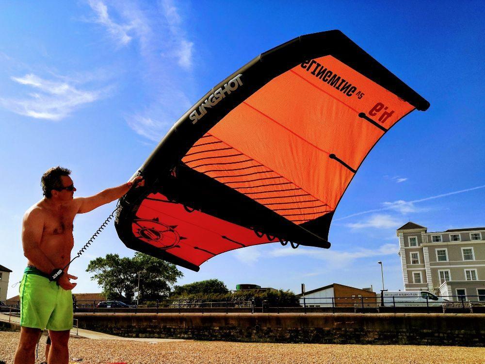 Slingwing v2 kite wing