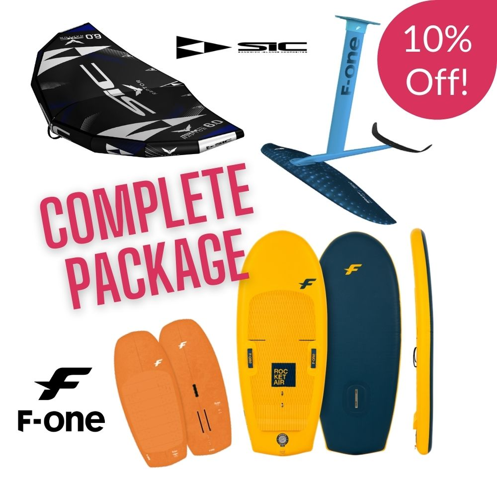F one and SIC wing foil package