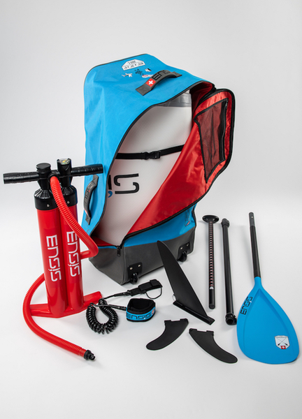 ENSIS iSUP bag and accessories